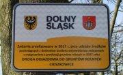 Nowa droga w Cieszkowicach