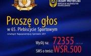 Prośba o głosy w Plebiscycie Sportowym Gazety Wrocławskiej