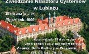Zwiedzanie Klasztoru Cystersów w Lubiążu