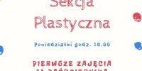 plakat z informacjami o sekcji