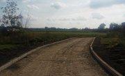 przebudowywana droga