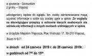 informacja dotycząca spisu