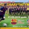 plakat spotkania piłkarskiego