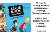 plakat projekcji filmu